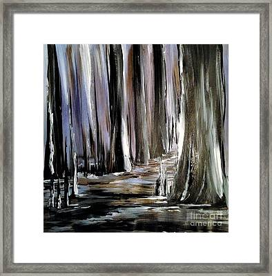 Forest 1 Framed Print