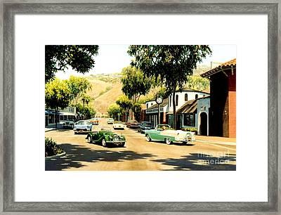 Forest Avenue At Glennerye Framed Print by Frank Dalton