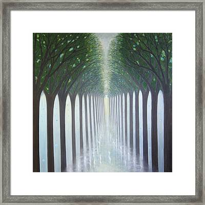 Forest Council Framed Print by Tone Aanderaa