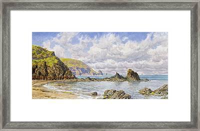 Forest Cove Framed Print by John Brett