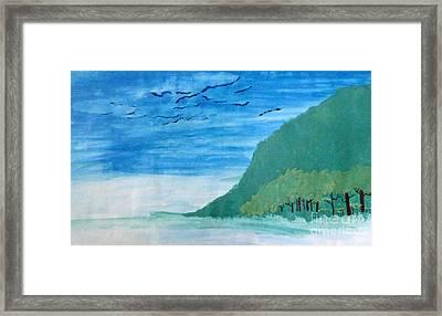 Forest Edge Framed Print