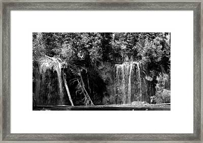 Forest Falls Framed Print by Kevin Munro