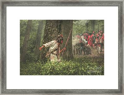 Forest Fight Framed Print