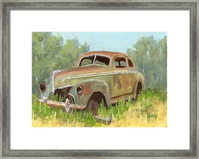Forest Find Framed Print by David King