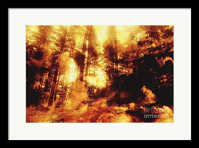 Conflagration Framed Prints