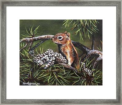 Forest Friend Framed Print by Kim Lockman