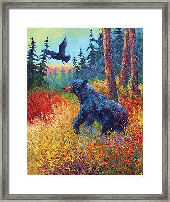 Forest Friends Framed Print by Marion Rose
