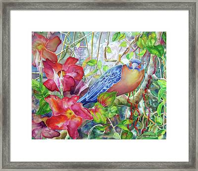 Forest Guardian Framed Print by Deborah Younglao