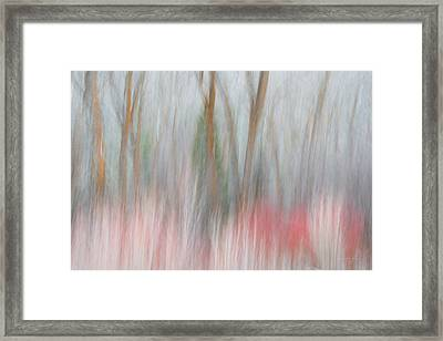 Forest Impression 2 Framed Print by Leland D Howard