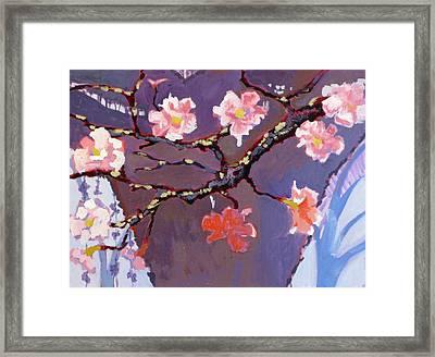 Forest In Bloom Framed Print by Robert Bissett