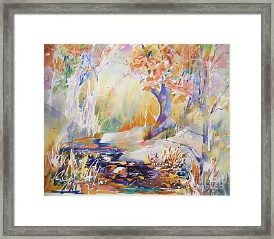 Forest Palette Framed Print