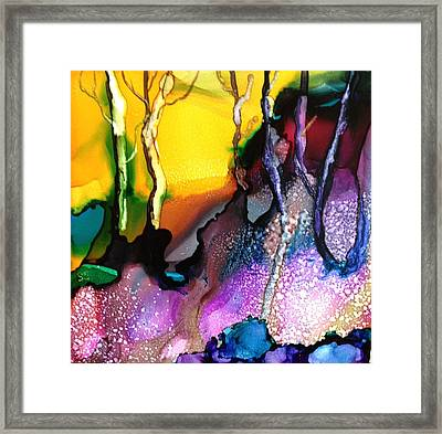Forest People Framed Print by Suzanne Canner