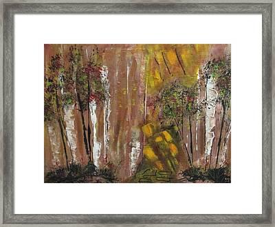 Forest Primeval Framed Print