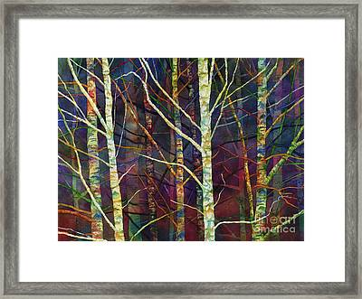 Forest Rhythm Framed Print by Hailey E Herrera