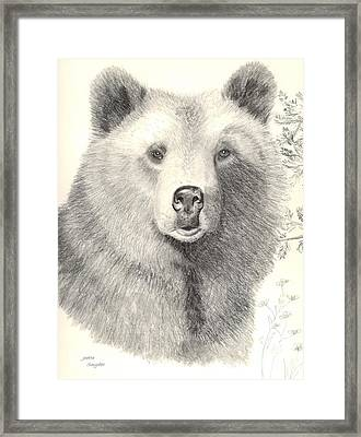 Forest Sentry Framed Print