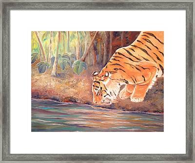 Forest Tiger Framed Print