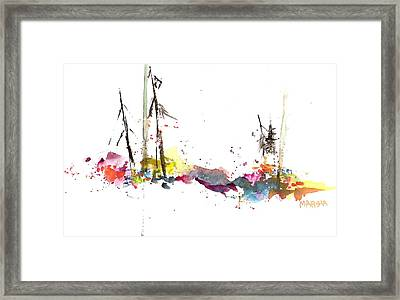 Forest Whimsey Framed Print