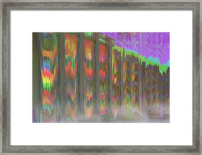 Framed Print featuring the digital art Forests Of The Night by Wendy J St Christopher