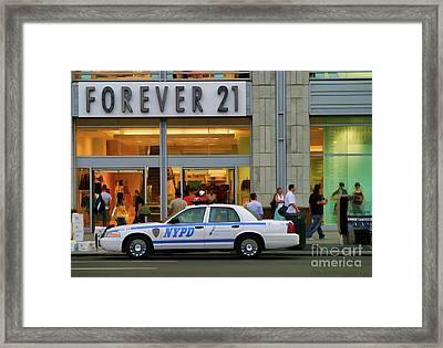 Forever 21 Union Square Nyc  Framed Print