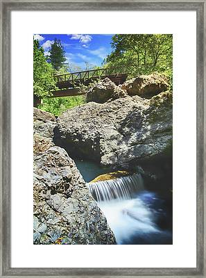 Forever And A Day Framed Print by Laurie Search