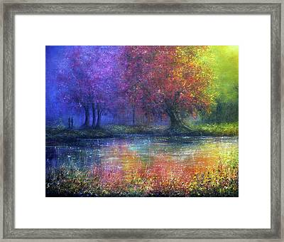 Forever Framed Print by Ann Marie Bone