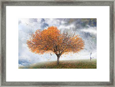Forever Autumn Framed Print by Kume Bryant
