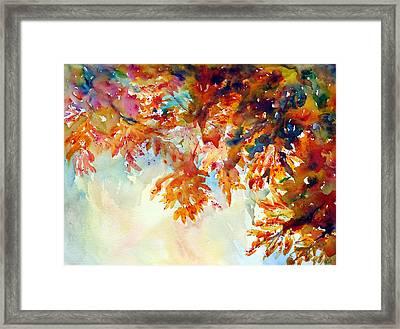 Forever Fall Framed Print