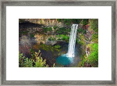 Brandywine Falls, Bc Framed Print
