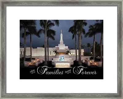 Forever Families Framed Print