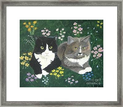 Forever Friends Framed Print