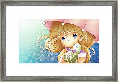 Forever Friends Framed Print by Precious Moments
