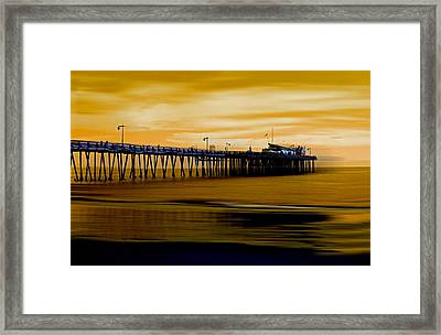 Forever Golden Framed Print