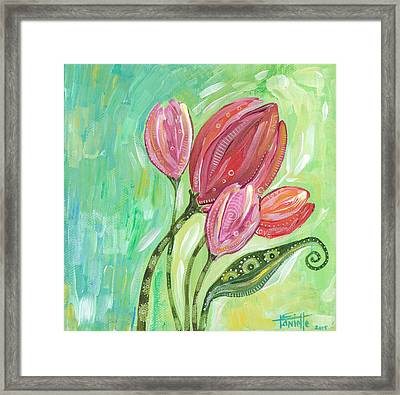 Forever In Bloom Framed Print by Tanielle Childers