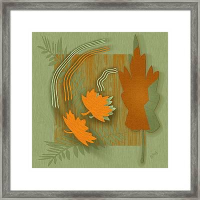 Forever Leaves Framed Print by Ben and Raisa Gertsberg