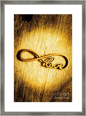 Forever Love Framed Print