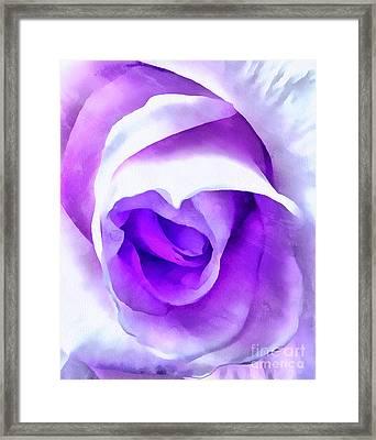 Forever Love Me Framed Print