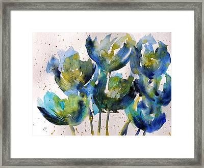 Forever Loving Blue Framed Print