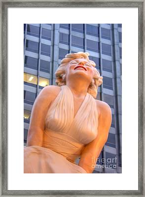 Forever Marilyn - 3 Framed Print by David Bearden