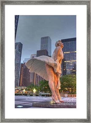 Forever Marilyn - 6 Framed Print by David Bearden