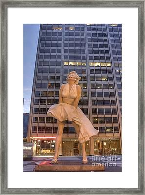 Forever Marilyn - 5 Framed Print by David Bearden