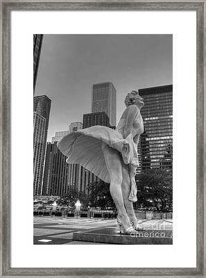 Forever Marilyn - 7 Framed Print by David Bearden