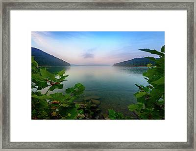 Forever Morning Framed Print