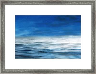 Forever Sea Framed Print