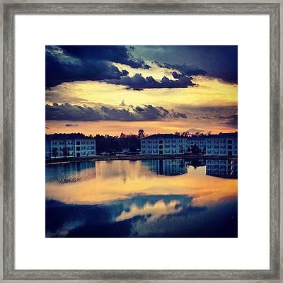 Forever Taking #sunset Pics Off This Framed Print