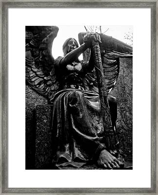 Forever Victorious Framed Print by Ian MacQueen