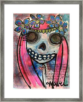 Framed Print featuring the painting Forever With You by Laurie Maves ART