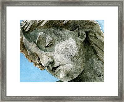 Forever Yours Framed Print by Brenda Owen