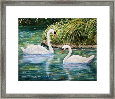 Forever Yours Framed Print by Charlotte Curran