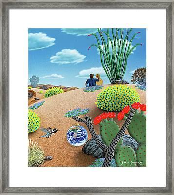Forever Yours Framed Print by Snake Jagger