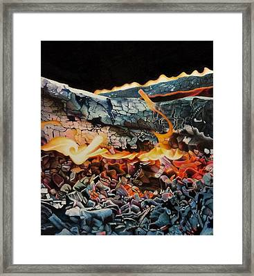 Forge Framed Print by David Hoque